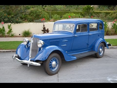 1934 Plymouth PE Deluxe Sedan, Fully Restored, Gorgeous! SOLD!