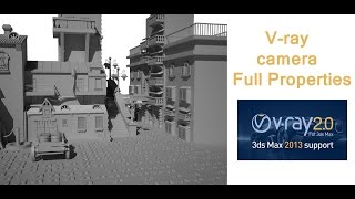 VRay Tutorial : Vray physical camera settings
