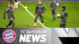 Bayern Munich prior to Champions League clash against Anderlecht