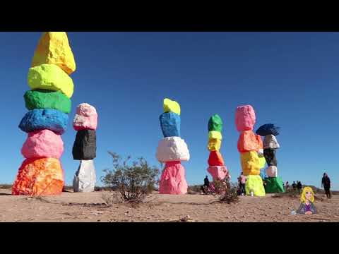 Ask A Concierge: Visiting the Seven Magic Mountains