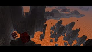 Minecraft snapshot 20w15a NEW BASALT DELTA BIOME AND BLACKSTONE!!!