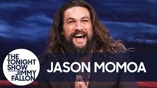 Jason Momoa Talks Aquaman and Hurting Jimmy During Water War