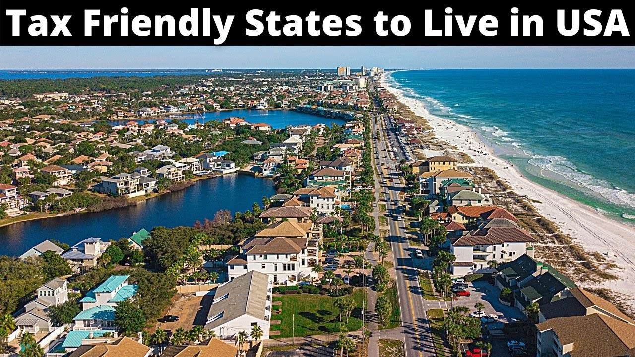 10 Tax Friendly States to Live or Retire in America
