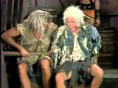 The Carol Burnett Show - Tim Conway and Harvey Korman - Old Man Ship Slaves
