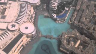 Dubai seen from the Atmosphere Restaurant, Burj Khalifa, Dubai, UAE