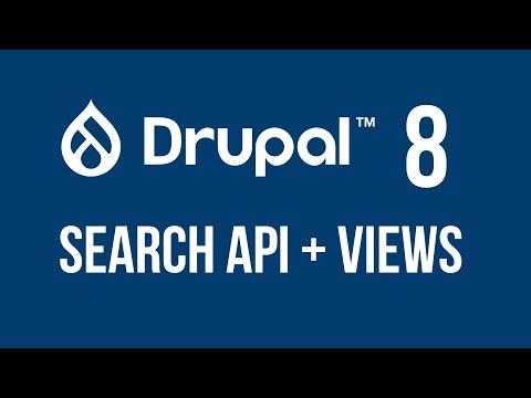 Drupal 8 - Using Search API