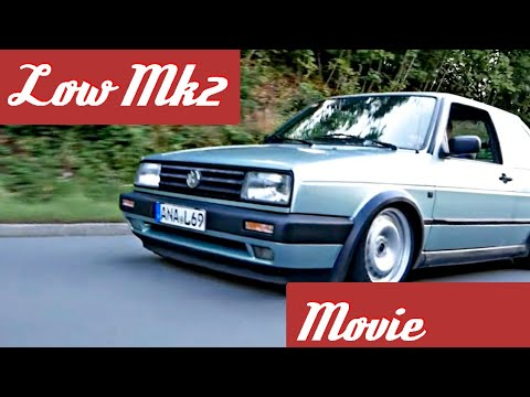 Low Vw Jetta Mk2 Tuning [Movie]