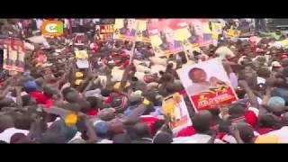 Jubilee waendelea na kampeni eneo la kati