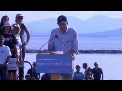 Complete broadcast of Bernie Sanders