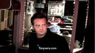 Classic video of Matthew Perry he is so cool and funny in real life
