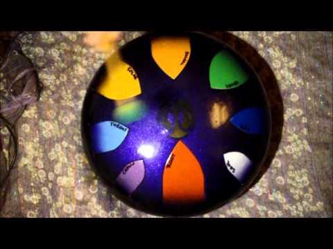 AM Drum - Chakra scale 432Hz - steel tongue drum