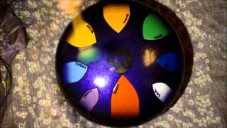 AM Drum - Chakra scale 432Hz - steel tongue drum