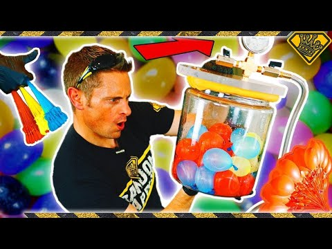 Testing Water Balloons in Space.  Do they Explode?