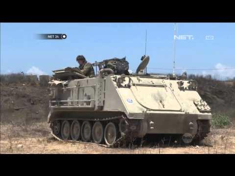 Artileri Dan Prajurit Israel Serang Jalur Gaza Lewat Jalur Darat - NET24