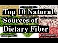 Top 10 Natural Sources of Dietary Fiber