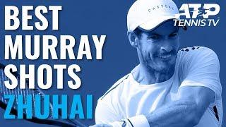 Andy Murray Best Shots in Win v Sandgren | Zhuhai 2019