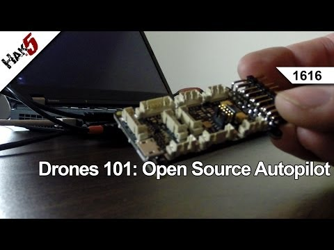 Drones 101: Open Source Autopilot, Hak5 1616