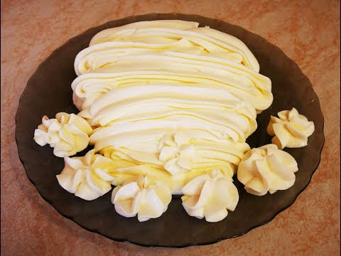КРЕМ ЧИЗ на сливках и сахарной пудре Рецепт КРЕМА крем для промазки коржей украшения