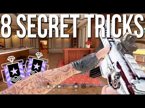 8 Secret Tricks I Used In The Raleigh Major Creator's Cup - Rainbow Six Siege Tips & Tricks