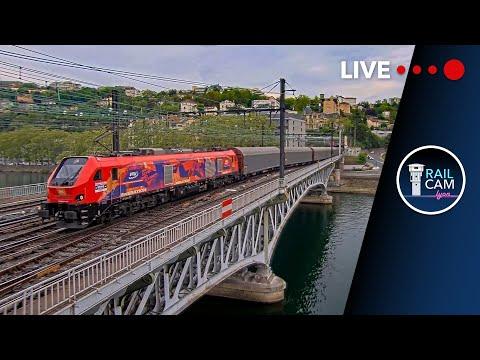 Railcam AHICF Poste 1 - Live trains in Lyon-Perrache, France