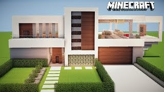 minecraft casa moderna mundo tutorial