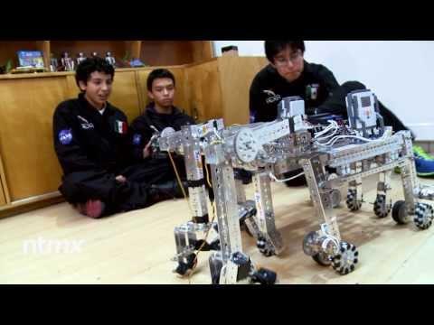 Héctor, Rafa y Pepe, los niños mexicanos que quieren colonizar Marte