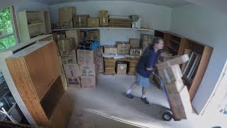 Moving Time Lapse - Unpacking/Moving In (Part 3)
