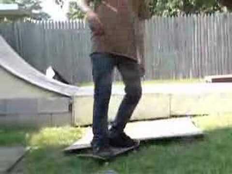 Skateboarding June and July 2007