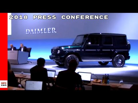 2018 Daimler Mercedes Annual Press Conference