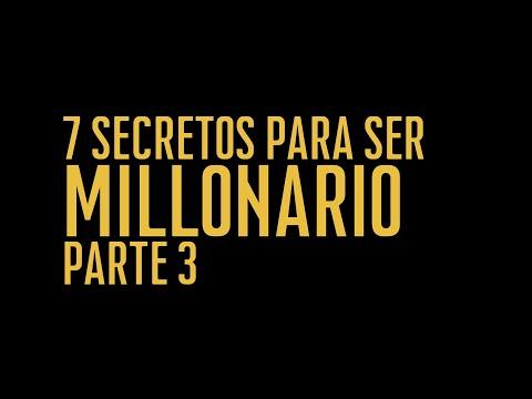 Reflexiones de mi libro 7 Secretos para ser millonario Pt3