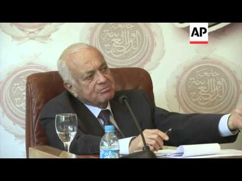 Arab League comments on breakdown on Middle East peace talks