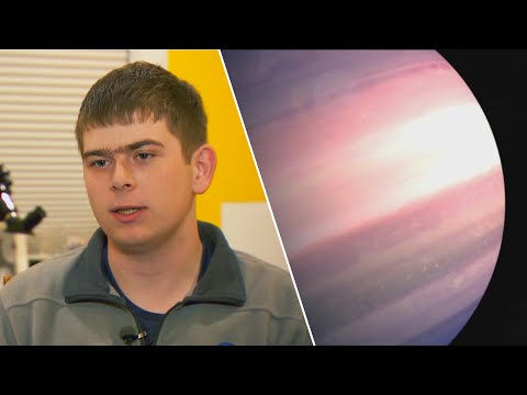 Lance Houston - New Planet Was Discovered by a 17-Year-Old
