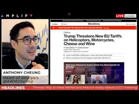 Trump threatens Europe with new tariffs