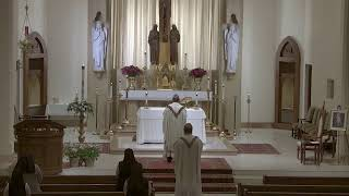 Second Sunday of Easter Mass at St. Joseph's 4.19.20 with Msgr. Harris