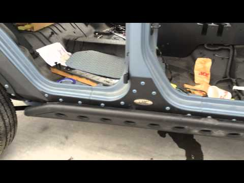 Jeep Punisher Edition Ep.20 Side Slider SRC Rock Guard Lost Episode XRC Body Armor
