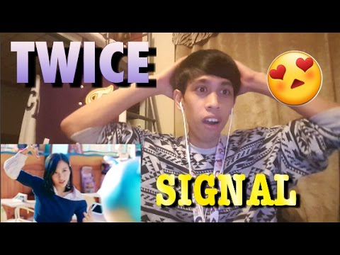 Thumbnail: TWICE(트와이스) - 'SIGNAL' M/V REACTION! (FANBOY) THEY ARE OUT OF THIS WORLD!