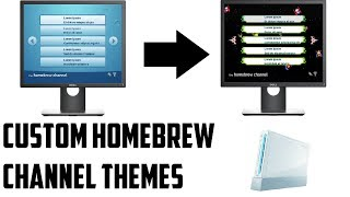 Install Custom Theme for Homebrew Channel on Nintendo Wii