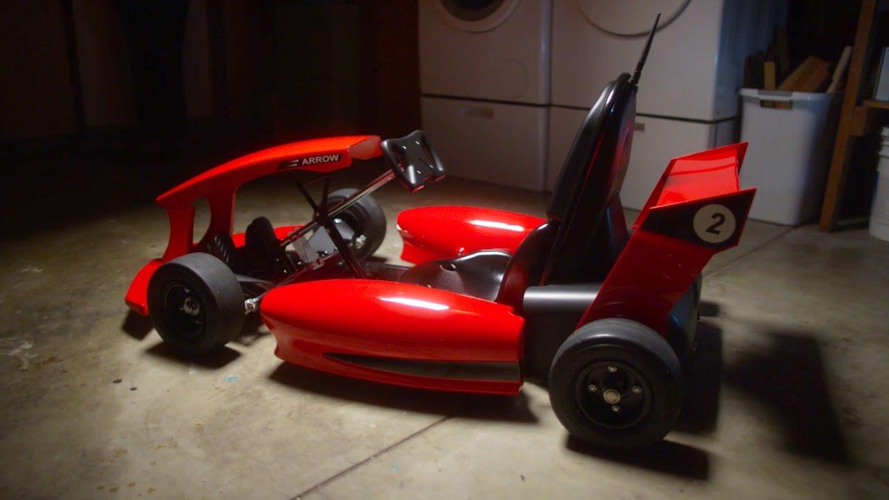 Actev motors electric go karts for kids youtube for Motor go kart for sale