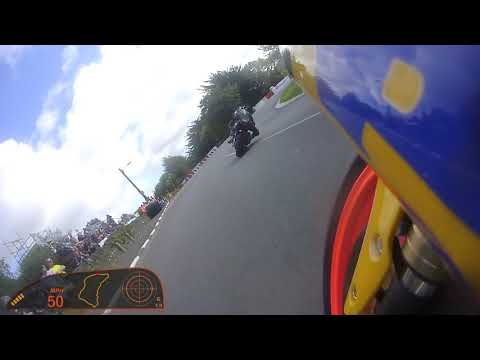 Manx Grand Prix 2017 Junior Race - Onboard with Barry Lee Evans