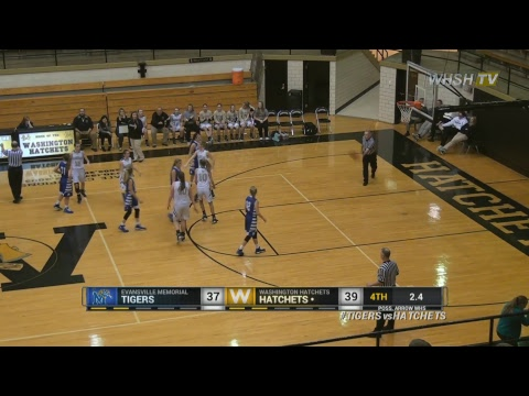 Evansville Memorial Lady Tiger vs Washington Lady Hatchets 12/19/2017