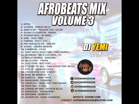 Dj Yemi Gospel Afrobeats Mix Vol 3