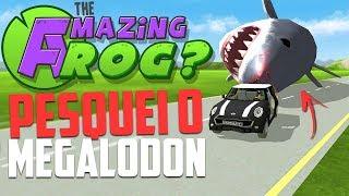 PESQUEI O TUBARÃO GIGANTE! - Amazing Frog