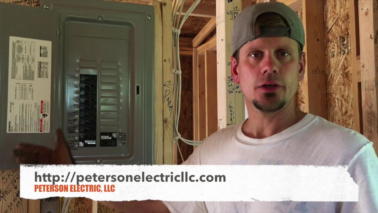electrical wiring for studio apartment garage panel grounding bonding [ 1280 x 720 Pixel ]