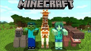Minecraft MARK AND MARIE OPEN UP A ZOO / TIGER'S AND LION'S TRY AND KILL US !! Minecraft