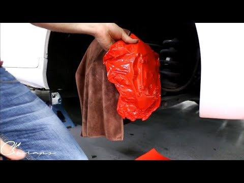 How To Vinyl Wrap Brake Calipers! By @ckwraps