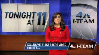 "News 4 New York: I-Team Exclusive ""First Steps Video"""