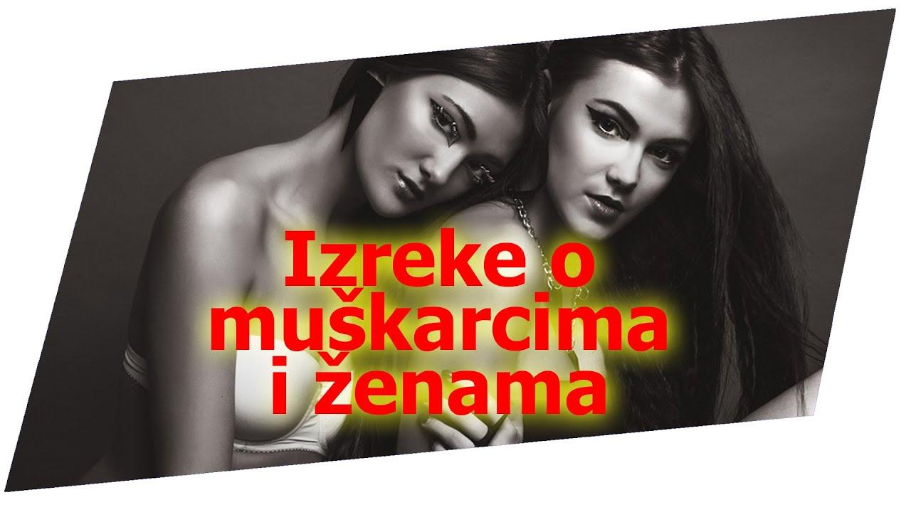 Citati O Zenama >> Izreke o muškarcima i ženama - YouTube