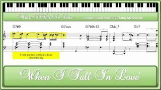Baixar 'When I Fall In Love' - jazz piano tutorial