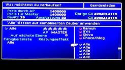Final Fantasy VII Höchstmögliche Geldsumme 4.294.967.296 Gil