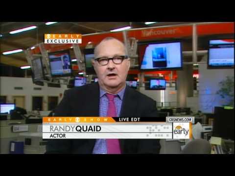 "Randy Quaid Running from ""Star Whackers"""
